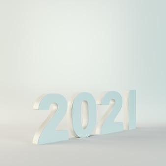 2021 chiffres sur fond gris