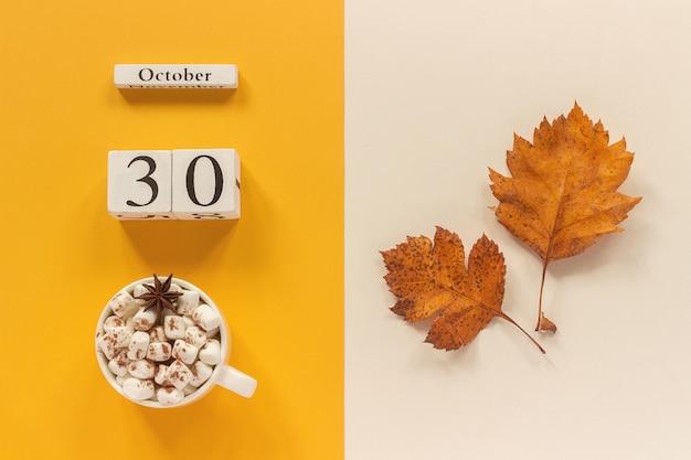 30 octobre, pose à plat