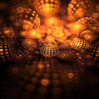 3d Abstrait Sphères Fond D'écran Photo gratuit