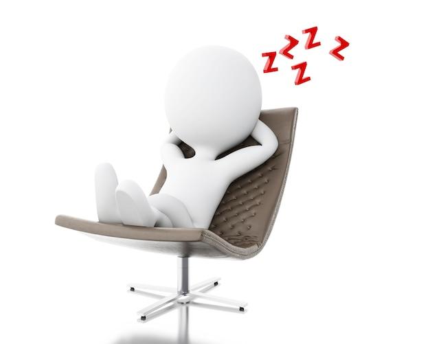 3d les blancs fatigués