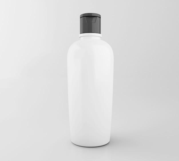 3d bouteille cosmétique. maquette