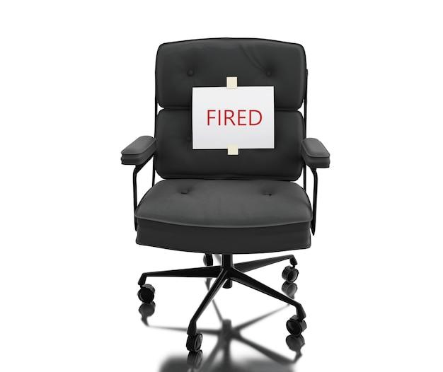 3d chaise de bureau avec pentecôte