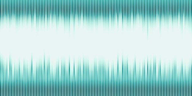 3d illustration onde sonore musique abstraite fond d'impulsion graphique d'onde sonore de fréquence et de spectre séparément sur fond noir