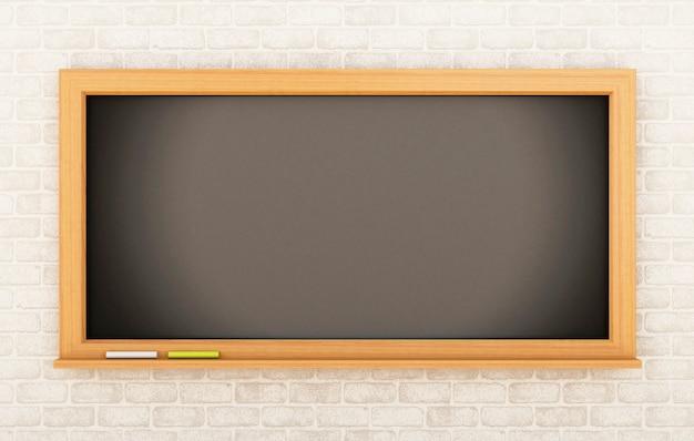 3d tableau vide. concept de l'éducation.