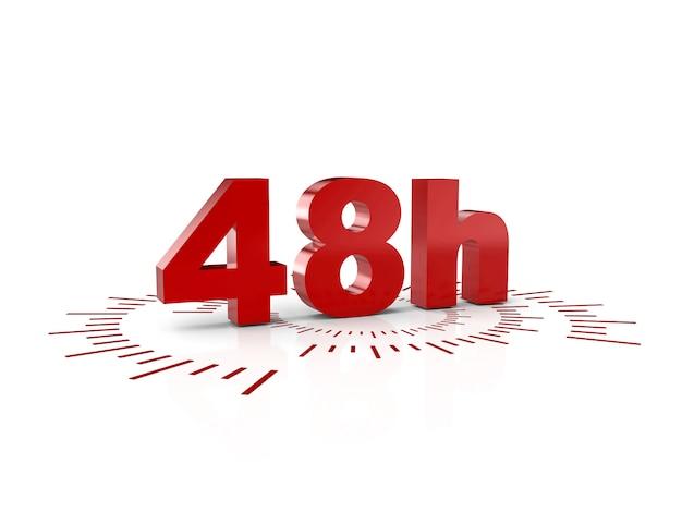 48 heures de service