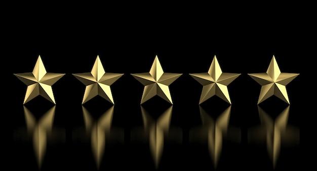 5 étoiles d'or