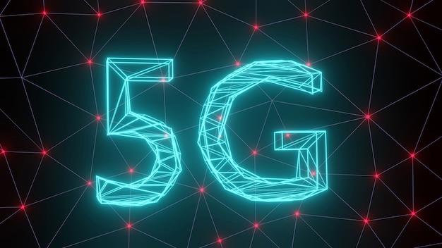 5g réseau de diffusion par satellite de réseau reliant le futur système ensemble.