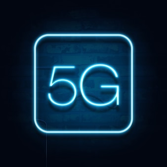 5g5g norme de la technologie de transmission de signal moderne.