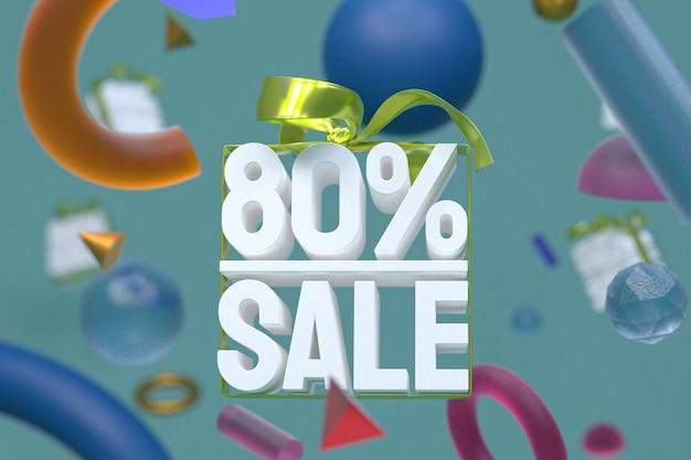 80% De Vente Avec Arc Et Ruban 3d Design Sur Fond De Géométrie Abstraite Photo Premium