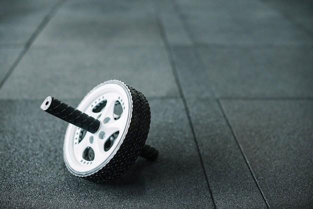 Ab roue sur le plancher