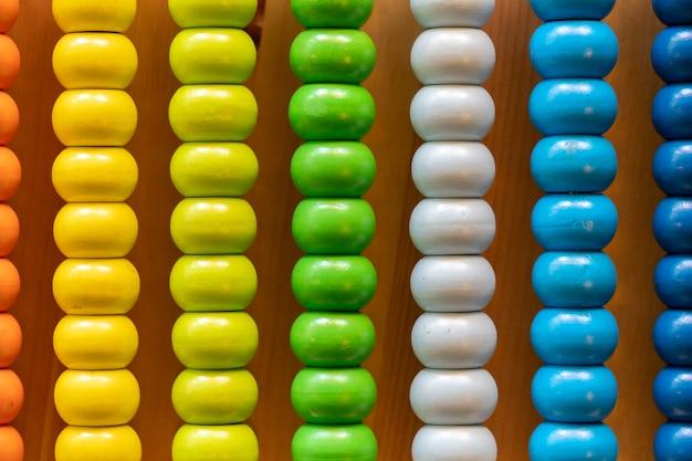 Abacus coloré pour compter l'apprentissage