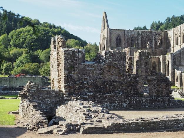 Abbaye de tintern (abaty tyndyrn) à tintern