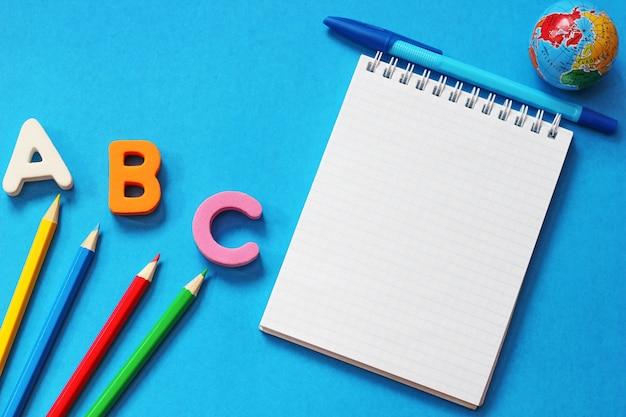 Abc-les premières lettres de l'alphabet anglais