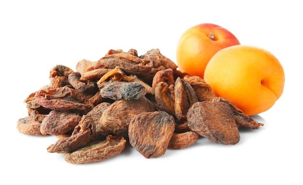 Abricots secs et frais