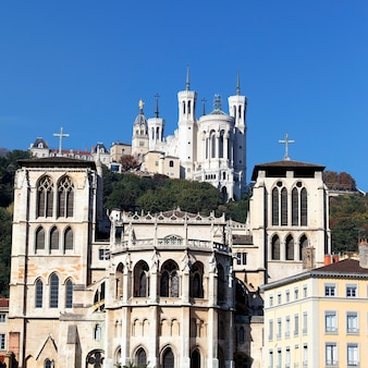 Abside de la cathédrale saint jean, lyon