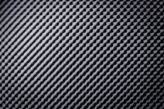 Absorbant la mousse acoustique noir gris