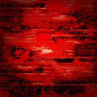 Abstract grunge horreur fond rouge sanglant