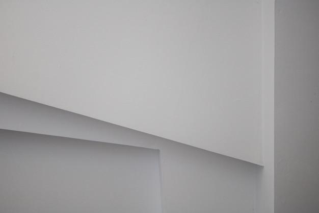 Abstract room stripe blanc fond de modèle de mur horizontal