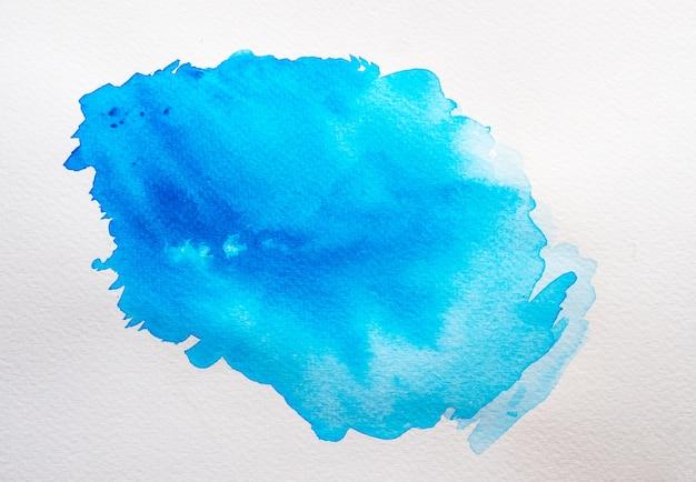 Abstrait aquarelle bleue.