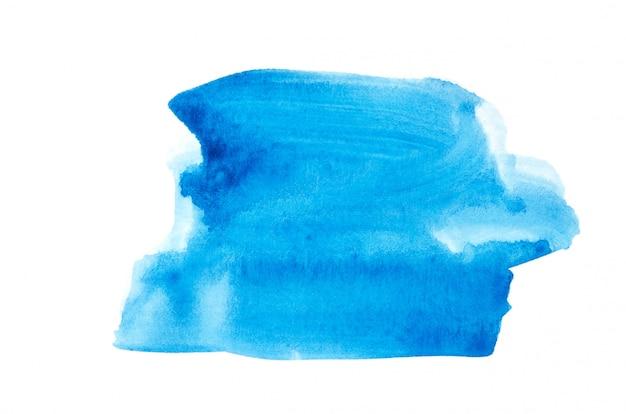 Abstrait aquarelle main peinture texture fond, isolé.