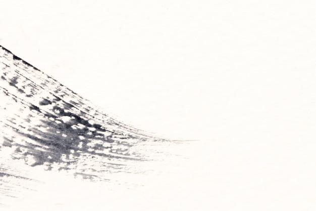 Abstrait aquarelle noir et blanc peint fond ou texture.