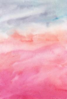 Abstrait aquarelle, texture peinte à la main, taches d'aquarelle. conception d'arrière-plans, de papiers peints, de couvertures et d'emballages.