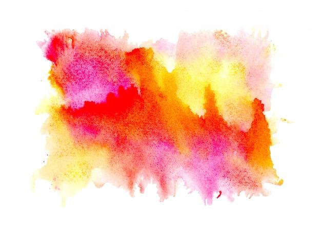 Abstrait aquarelle.
