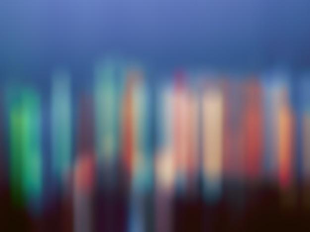 Abstrait arrière-plan flou avec des couleurs différentes.
