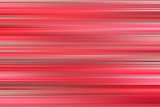 Abstrait arrière-plan flou avec des rayures horizontales rouges