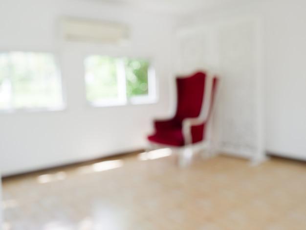 Abstrait arrière-plan flou salon moderne