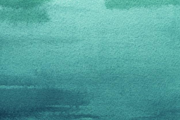 Abstrait art fond turquoise clair et couleurs vertes