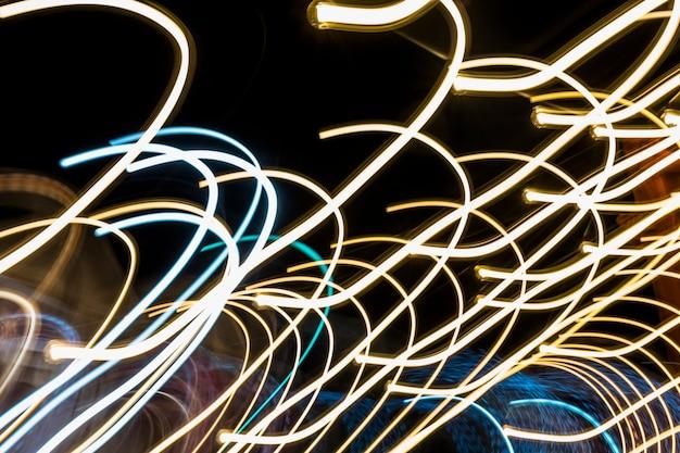 Abstrait bande de lumière