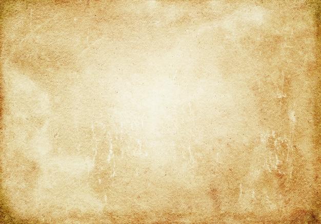 Abstrait, beige, blanc, fond grunge, vieux papier brun