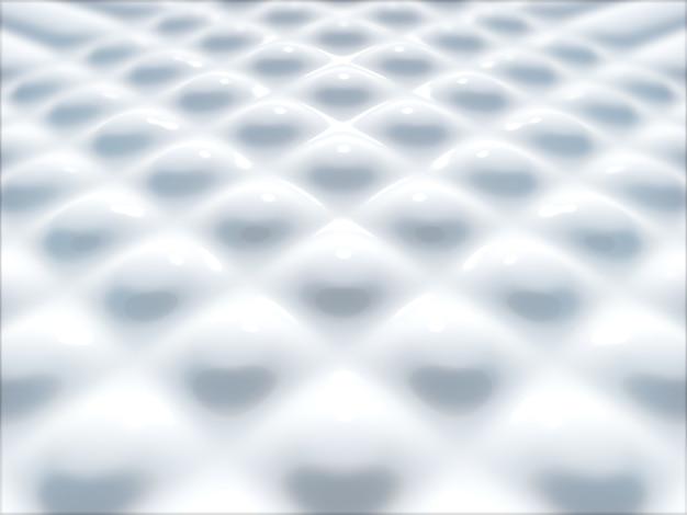 Abstrait blanc. rendu 3d.