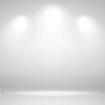 Abstrait blanc salle vide