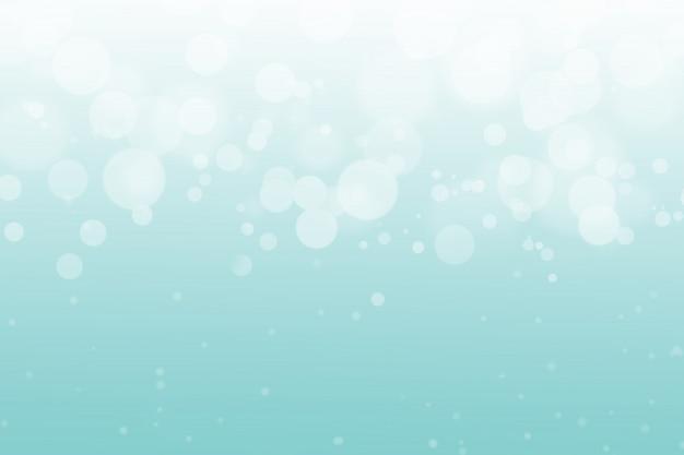 Abstrait bleu bokeh