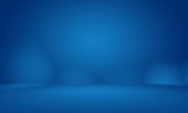 Abstrait bleu foncé lisse avec un studio de vignette noir bien utilisé comme arrière-plan rapport d'activitédigitalweb...