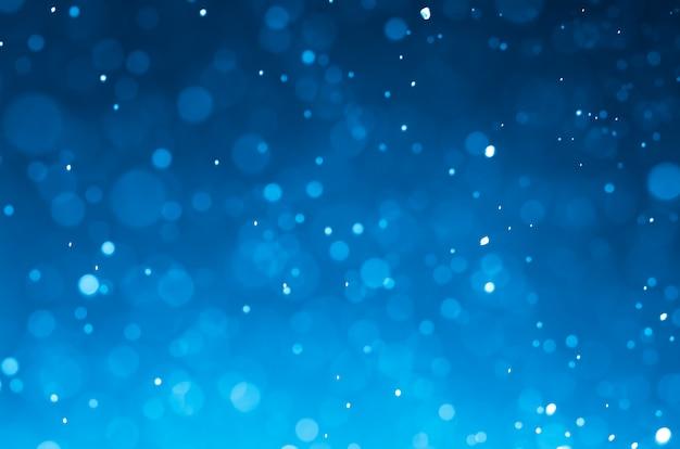 Abstrait bleu foncé avec des lumières blanches