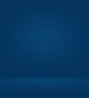 Abstrait bleu lisse avec studio vignette noir bien utilisé comme arrière-plan rapport d'activité site web numérique ...