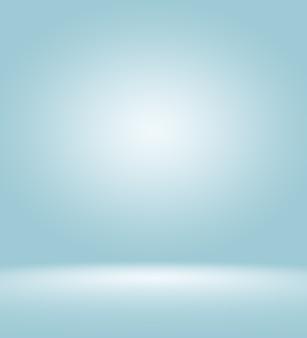 Abstrait bleu lisse avec vignette noire studio bien utilisé comme arrière-plan, rapport d'activité, modèle de site web numérique.