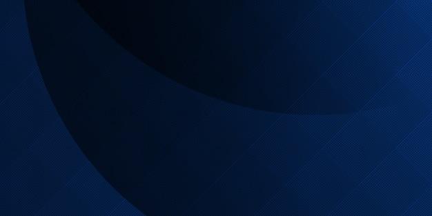 Abstrait bleu moderne futuriste. conception de bannière graphique dynamique. contexte corporatif de vecteur