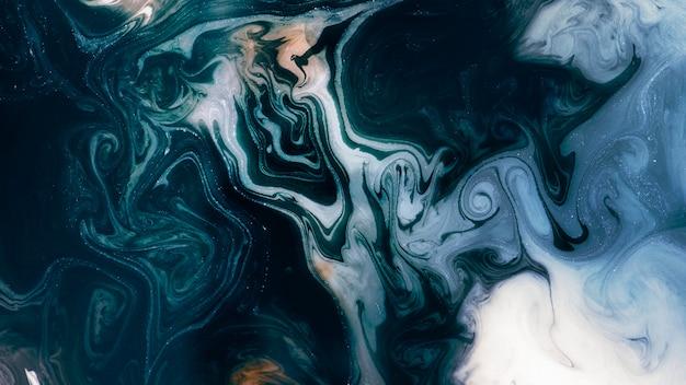 Abstrait bleu à motifs aquarelle
