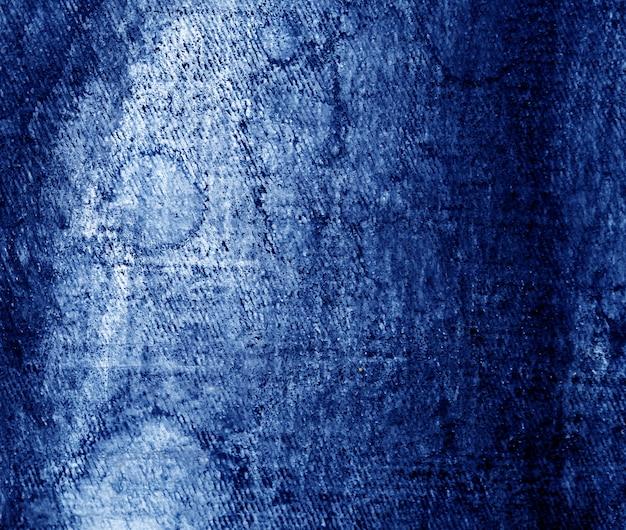 Abstrait bleu peinture à l'huile sombre