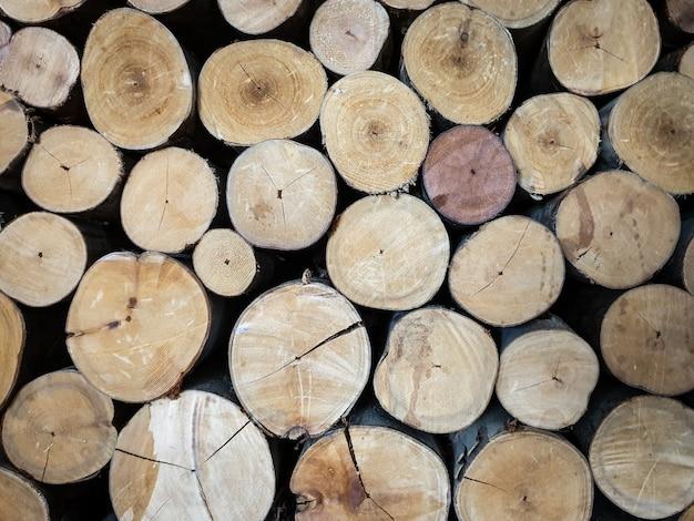 L'abstrait de bois brun