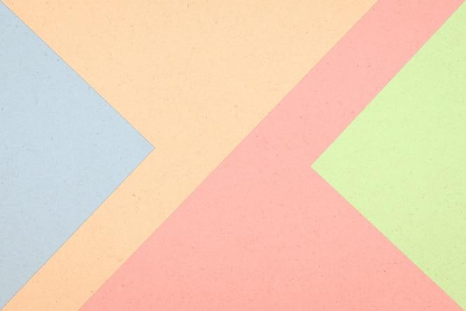 Abstrait de boîte de papier coloré, couleur pastel