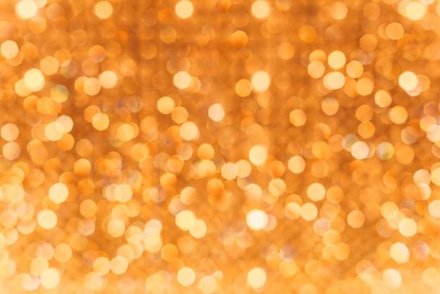 Abstrait, bokeh brouillé de belles lumières brillantes