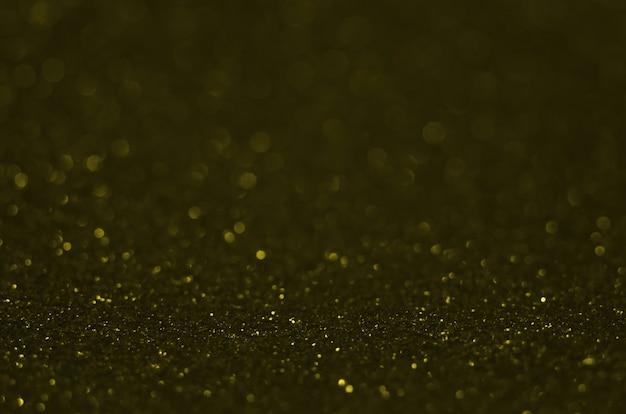 Abstrait bokeh festif avec des étincelles de défocalisation brillantes