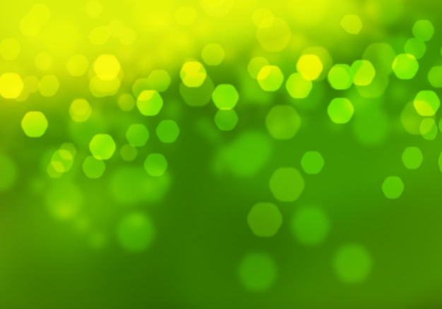 Abstrait bokeh vert vert circulaire. modèle de conception de ressources graphiques.