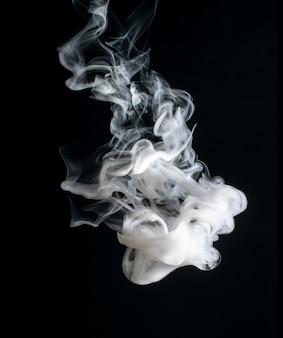 Abstrait brillant et belle couleur fumée