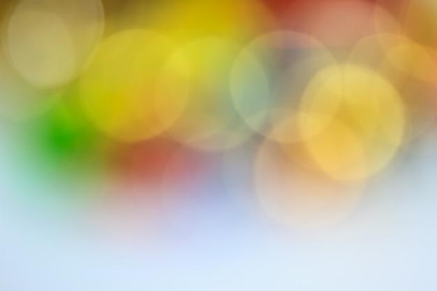 Abstrait brillant scintillant avec bokeh défocalisé